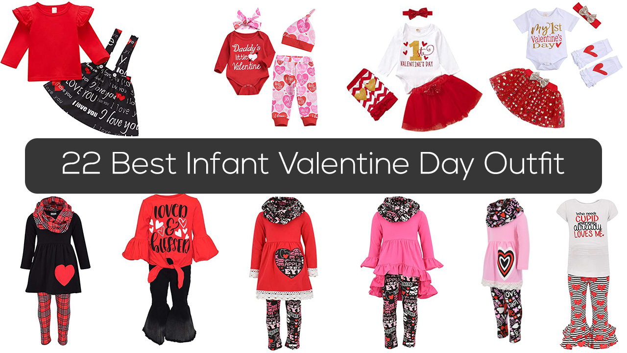 22 Best Infant Valentine Day Outfit 2021