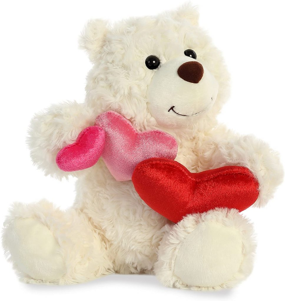Aurora - Valentine Items - 10 inch Truffle Bear - Vanilla