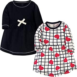 Baby and Womens Organic Cotton Short-Sleeve and Long-Sleeve Dresses