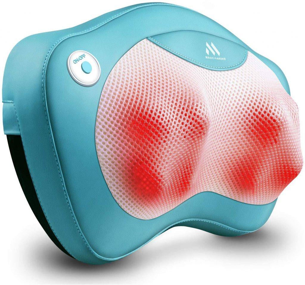 Back Massager Neck Massager with Heat - Gifts for Girlfriend Perfect Presents Idea for Valentines Day