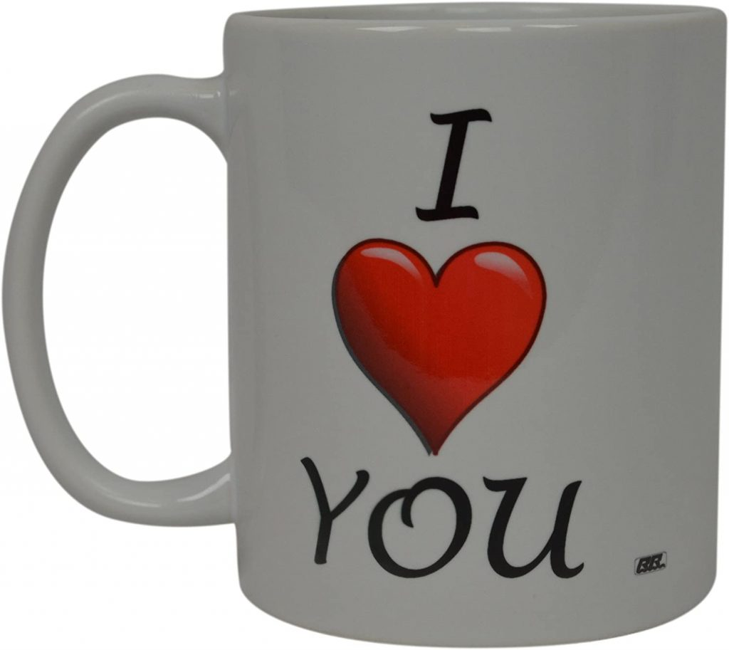 Best Funny Coffee Mug I Love You Heart Novelty Cup Wives Great Gift Idea For Husband Wife Valentines Day Boyfriend Girlfriend