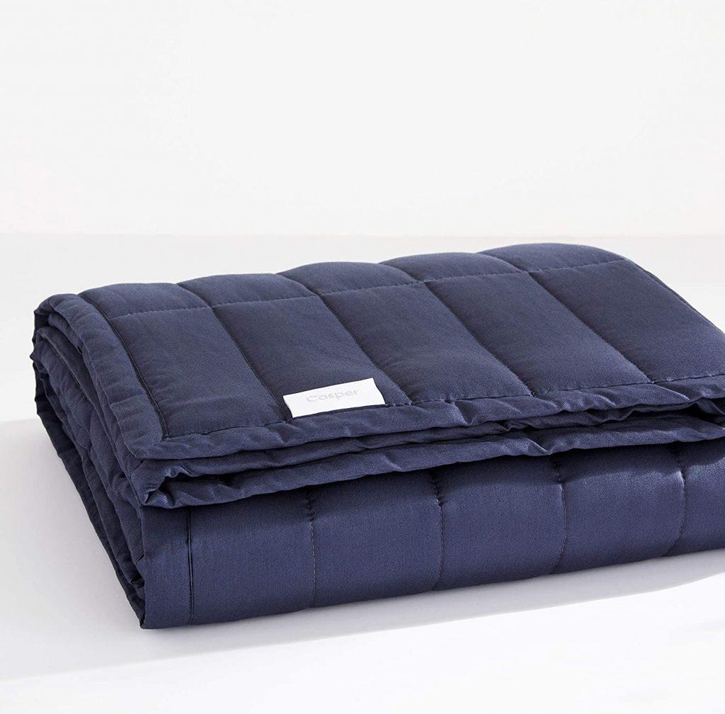 Casper Sleep Weighted Blanket, 20 lbs, Indigo valentine day for guys
