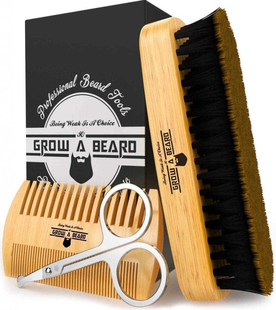 Comb and Brush Beard Establish valentine day gift for husband