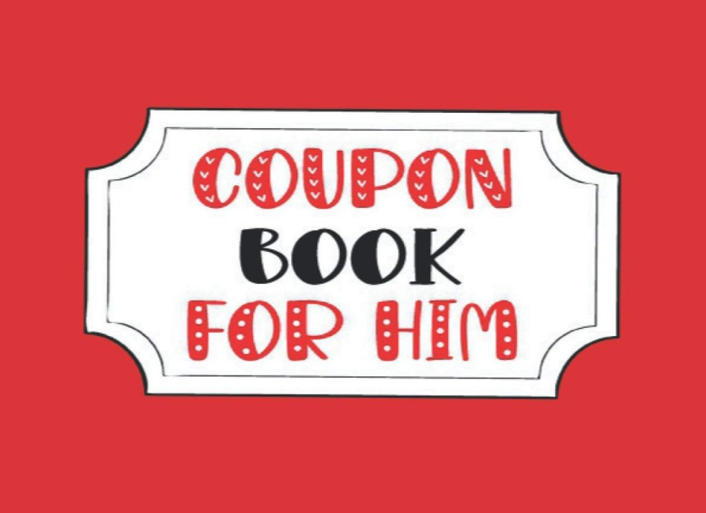 Coupon Book For Him Valentines Day Coupons for Husband or Boyfriend
