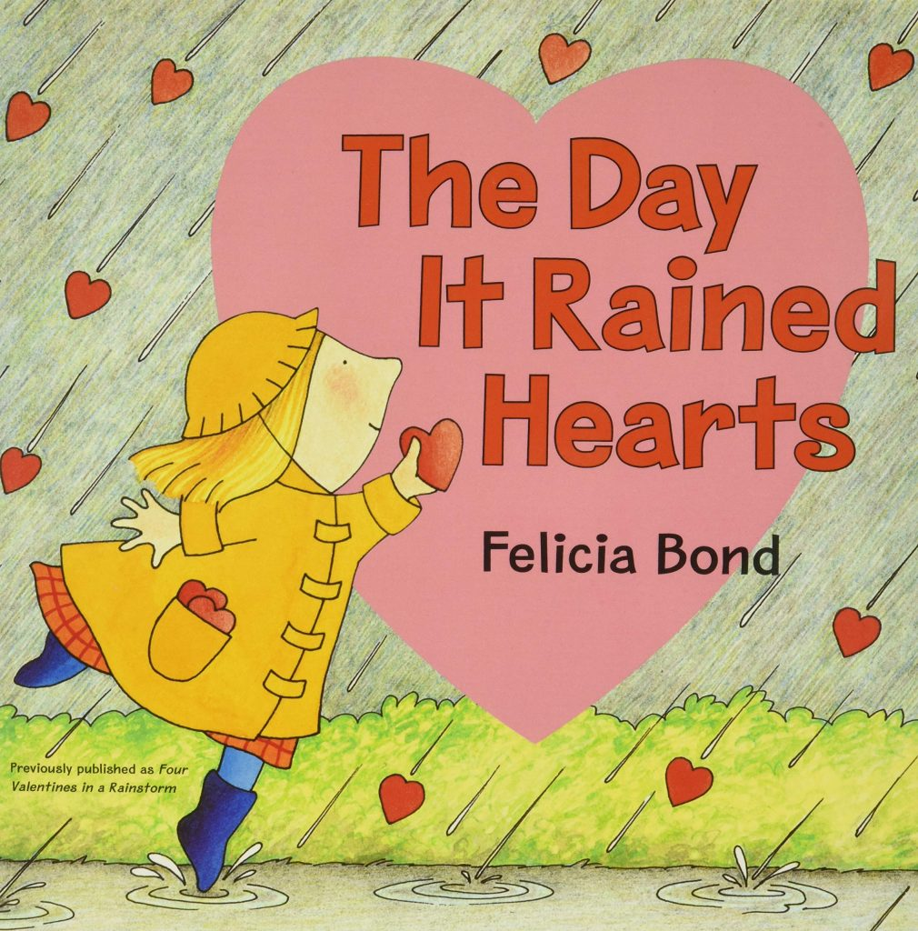Day It Rained Hearts valentine day book