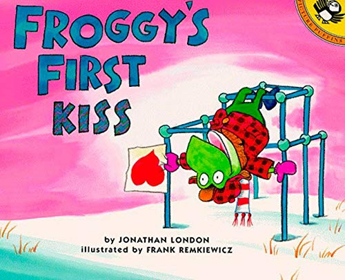 Froggy's First Kiss book