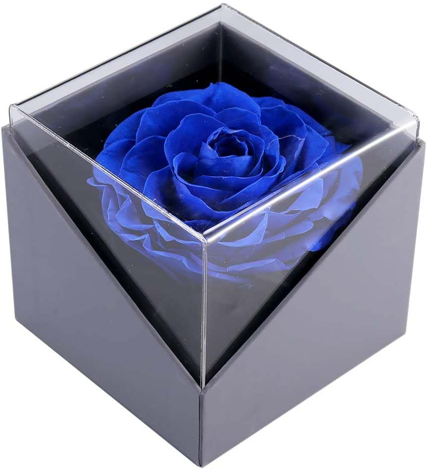 GMAXT Eternal Flower Handmade Preserved Real Eternal Rose Artificial Flowers for Decoration Best for Wife Girlfriend Mothers Day Birthday