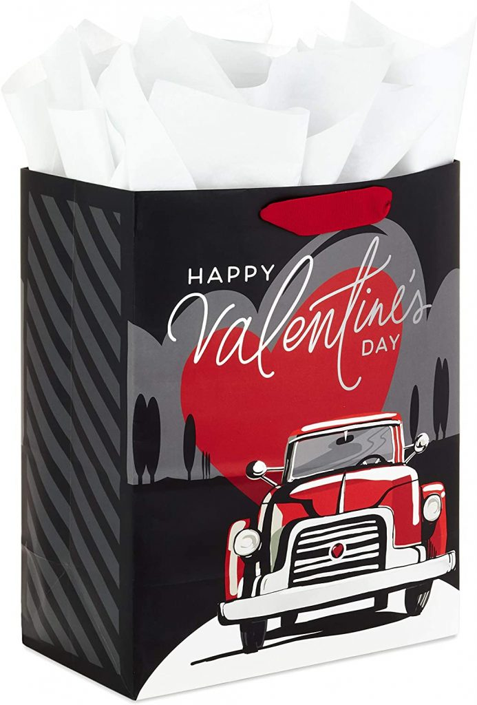 Hallmark 13 Valentine's Day Gift Bag with Tissue Paper