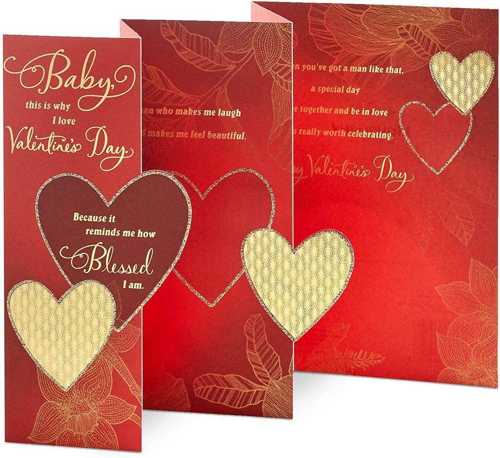 Hallmark Mahogany Valentine's Day baby Card