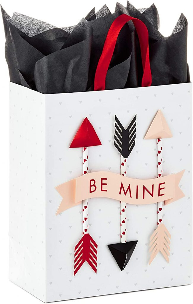 Hallmark Paper Wonder Medium Valentine's Day Gift Bag (be mine)