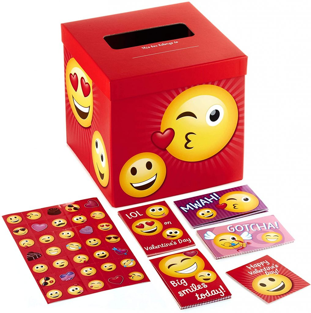 Hallmark Valentines Day Cards for Kids and Mailbox Emoticons