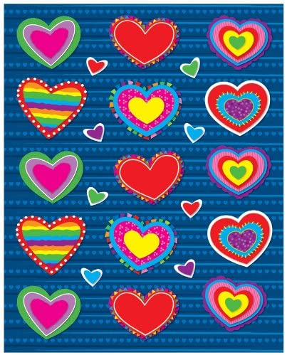 Heart Valentines Day Stickers