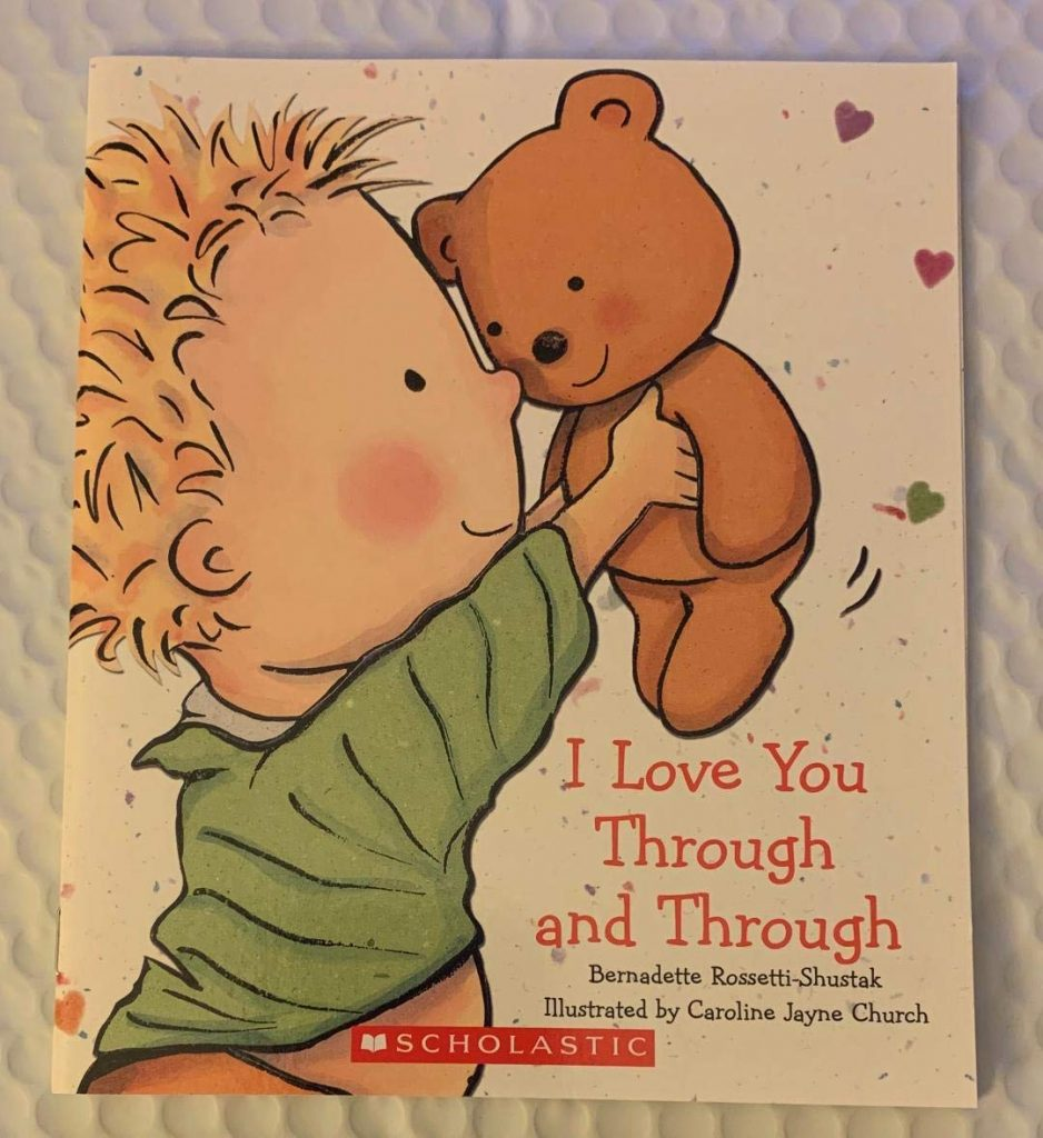 I Love You Through and Through valentine day book