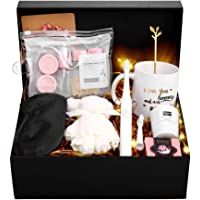 IEFRICH Gift Set for Women Jewelry Sets Day I Love You Gift Set for Women Gift Ideas with Gifts Box Basket for Women