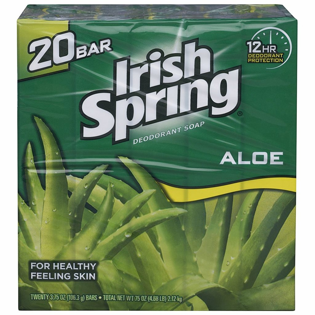 Irish Spring Aloe Bar Soap valentine day gifts for friends