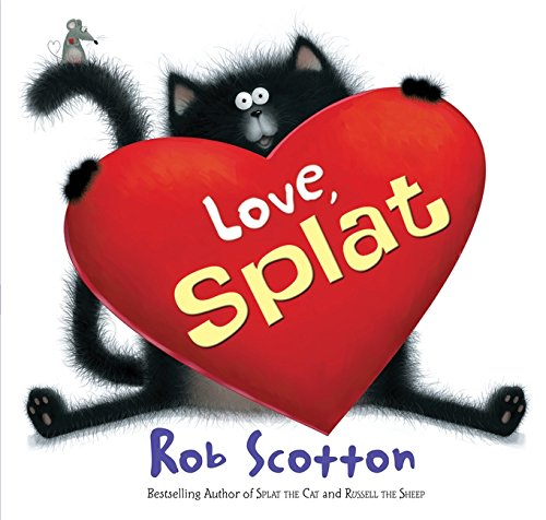 Love, Splat (Splat the Cat) valentine day books