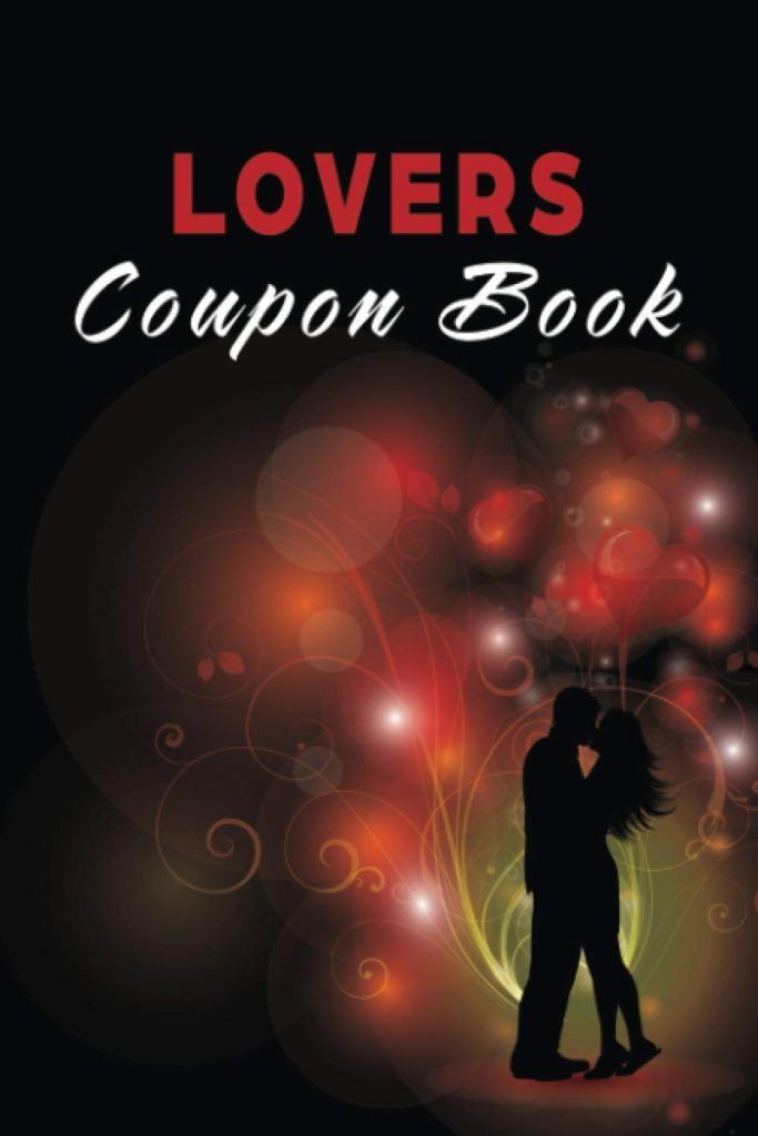 Lovers Coupon Book Vouchers for Him or Her, Husband, Wife, Boyfriend, Girlfriend or Couples. Unique Romantic Gift
