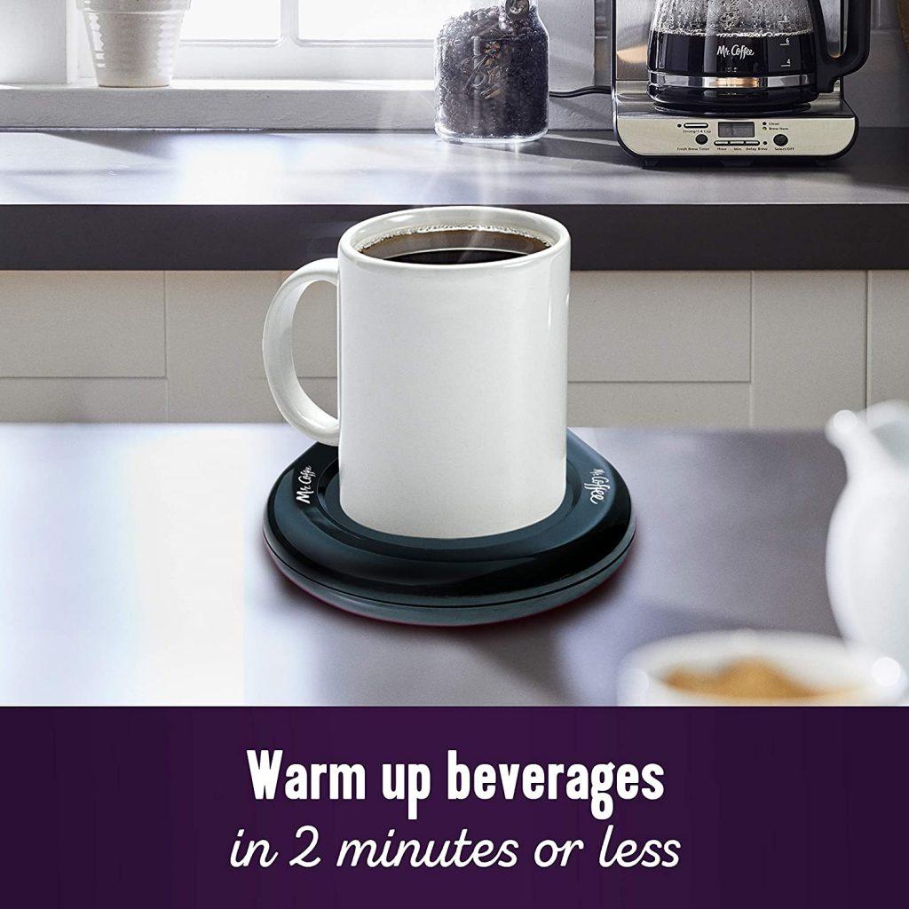 Mr. Coffee Mug Warmer, Home, Office, Black
