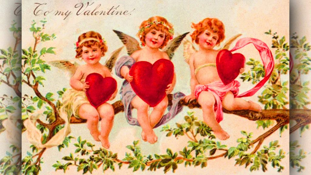 Origins of Valentines Day A Pagan Festival at February valentine day history