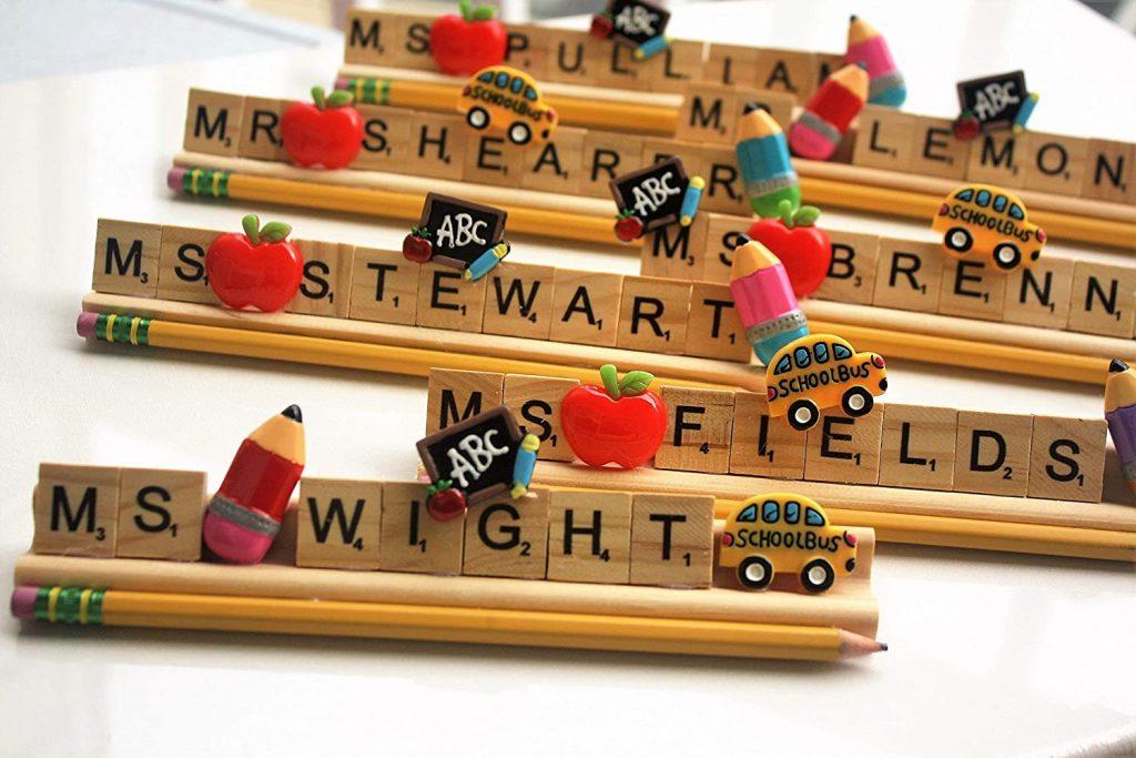 Personalized Teacher desk name plate kindergarten preschool elementary autism school gift