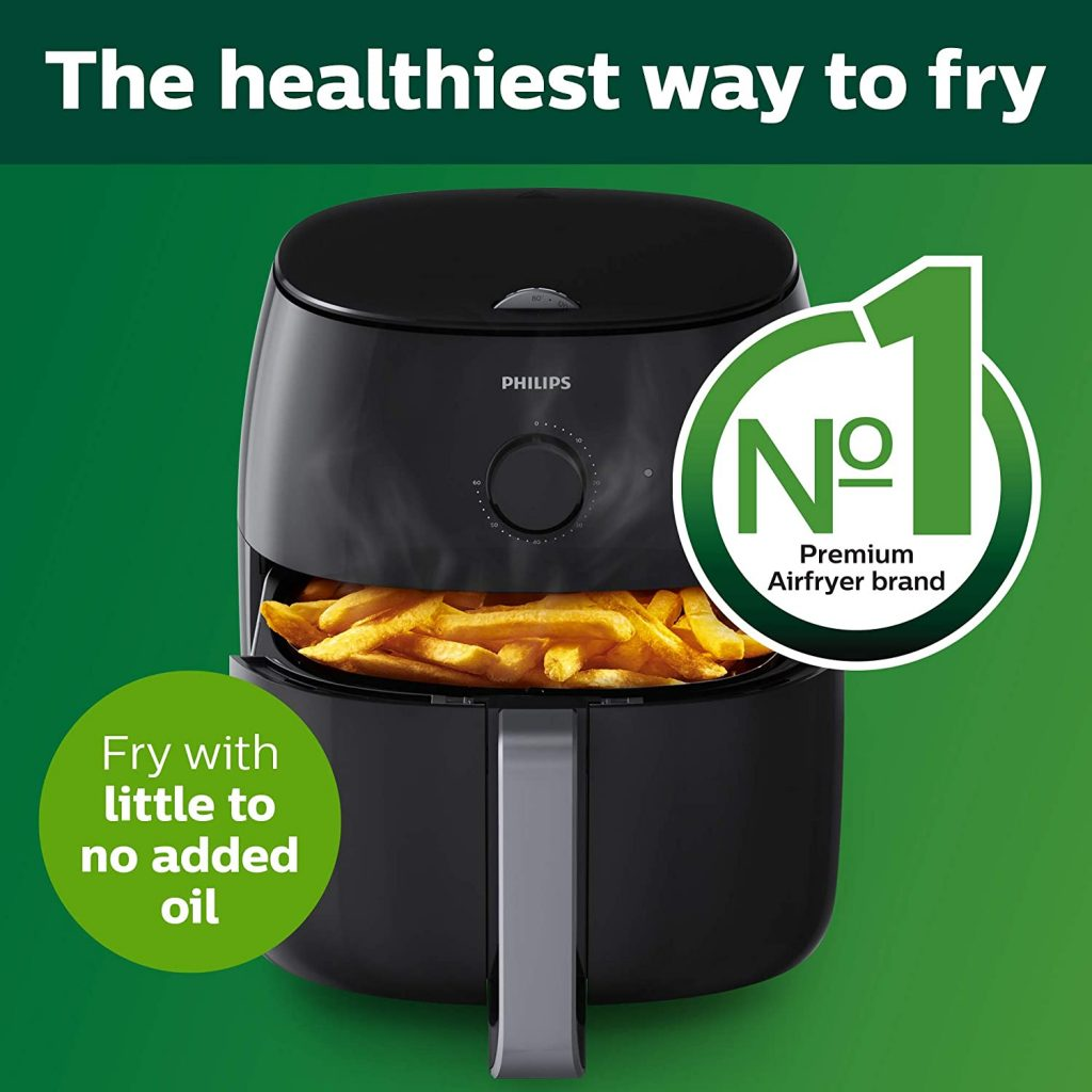 Philips Premium Airfryer XXL with Fat Removal Technology, Black valentine day for guys