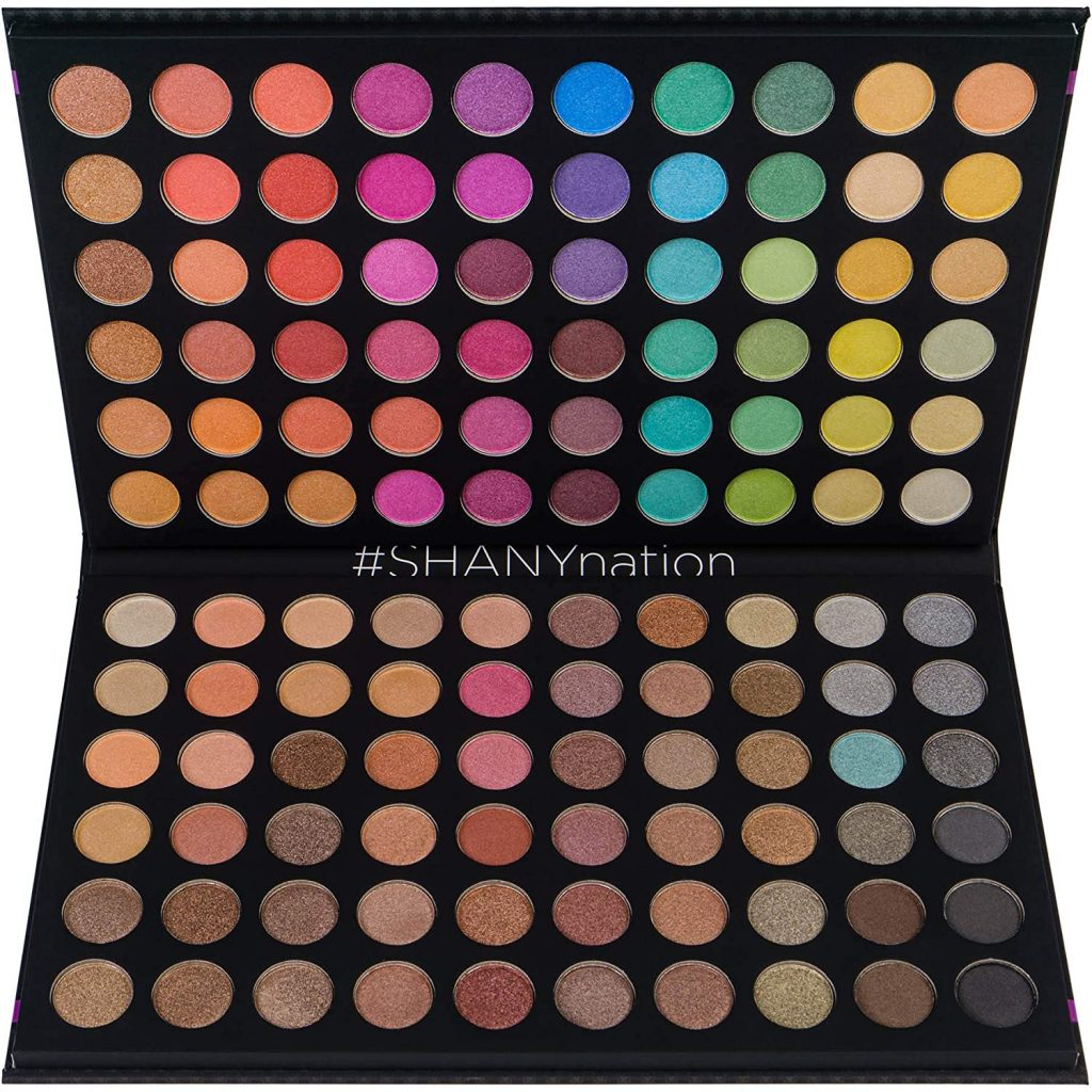 SHANY Ultimate Fusion - 120 Color Eye shadow Palette Natural Nude and Neon Combination valentine day for mom