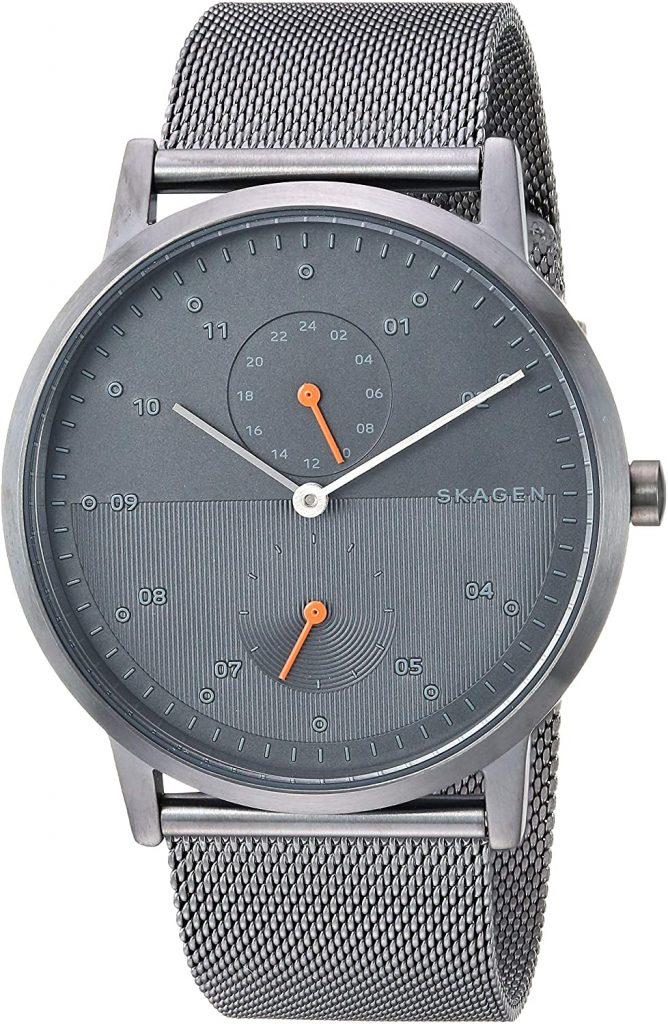 Skagen Men's Kristoffer Multifunction Stainless Steel Casual Quartz Watch valentine day for guys