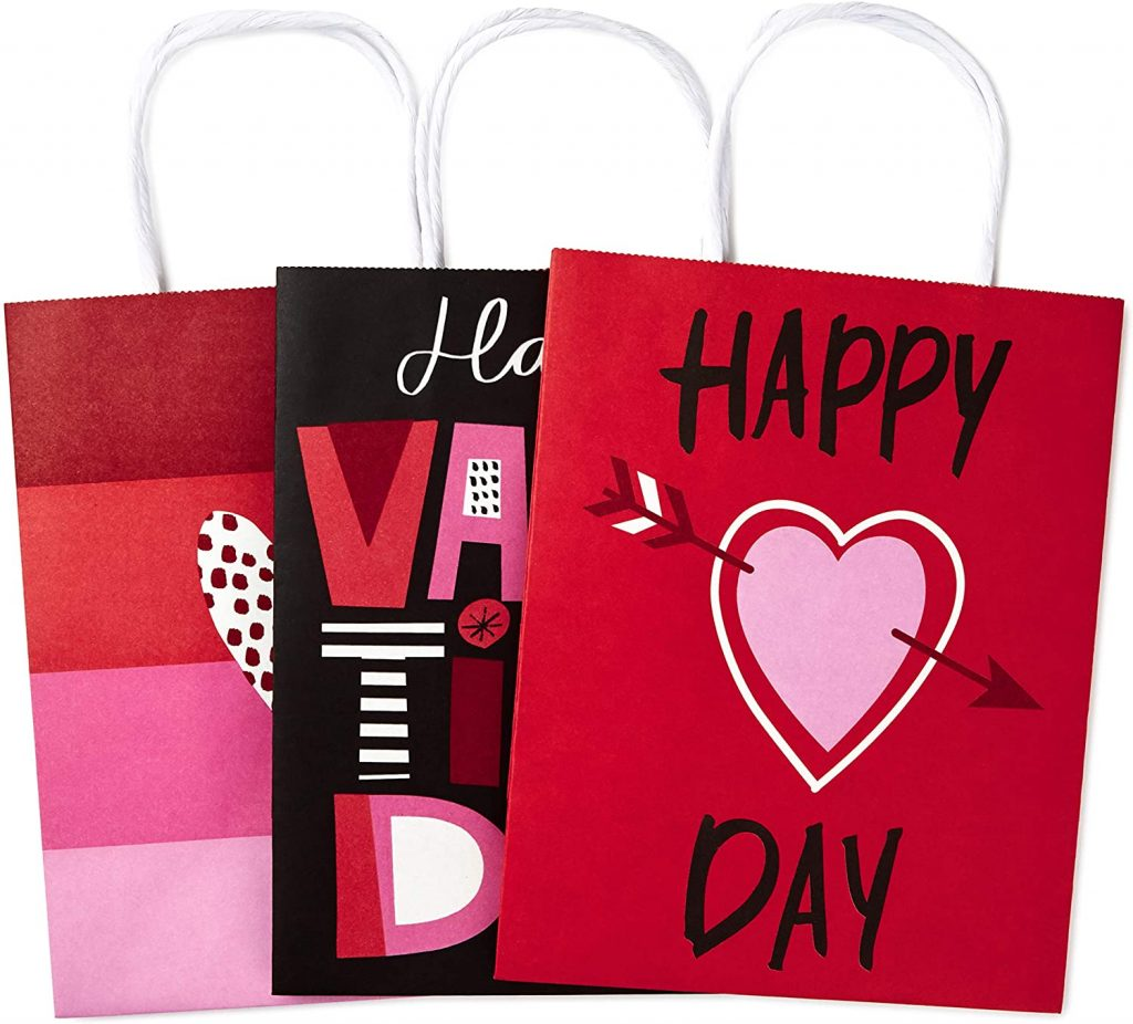 Valentine Day Bag gift Valentines Day Paper Gift Bags Assortment