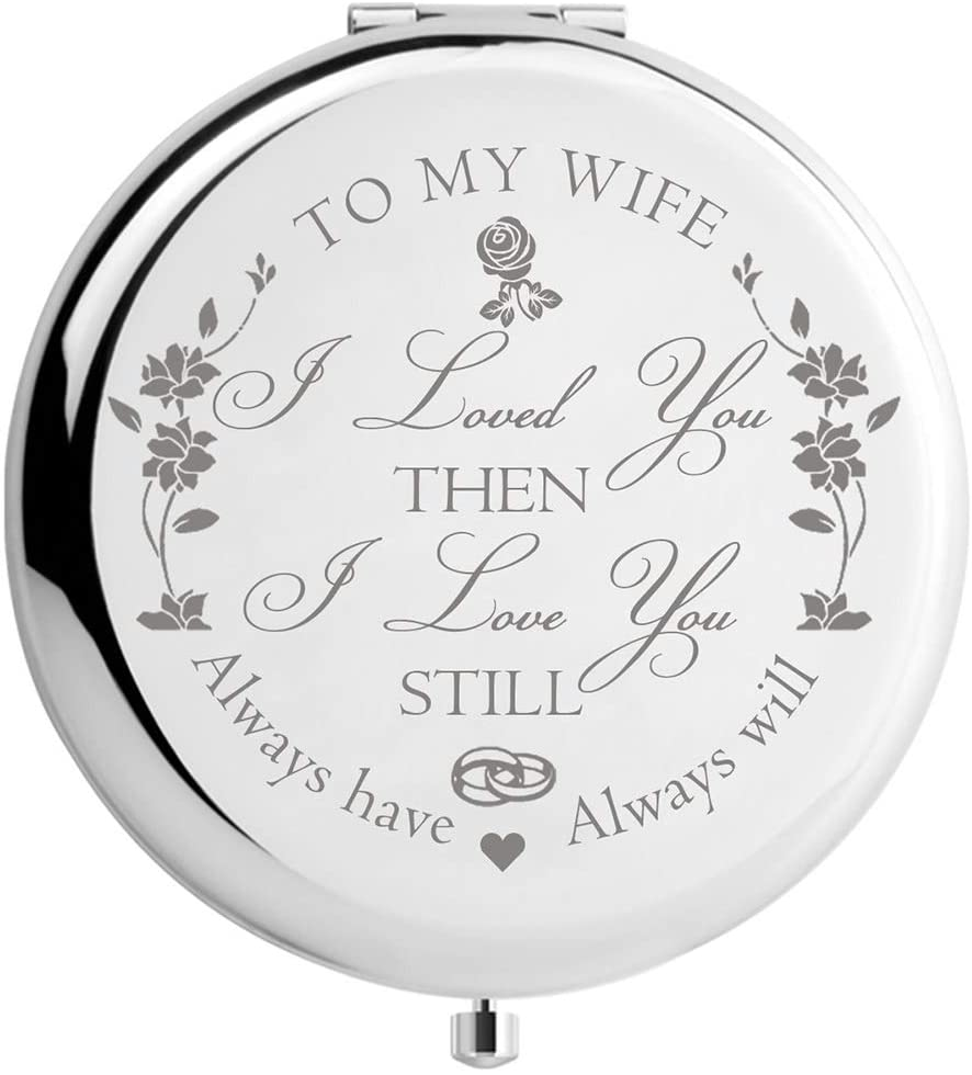 Wife Gifts Romantic for Birthday Mothers Day, Wifey Gifts for Bride, for Her, Women Gift Present for Valentines Day, Ideas from Husband (MIR-Wife)
