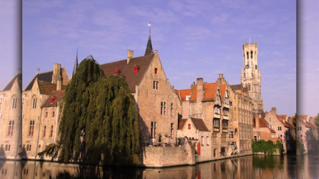 places to go for valentine day Bruges, Belgium