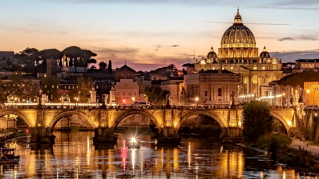 places to go for valentine day Rome Italy