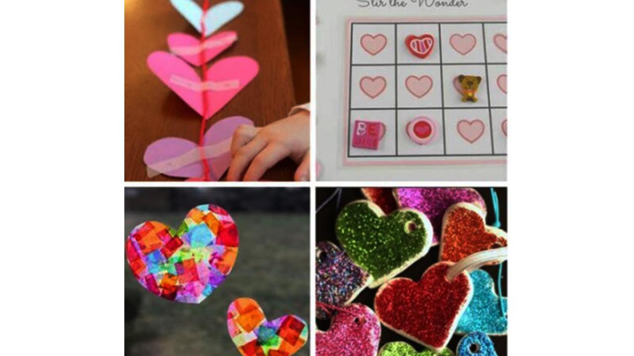 valentine day activities for preschool
