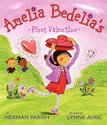 valentine day book Amelia Bedelia's First Valentine
