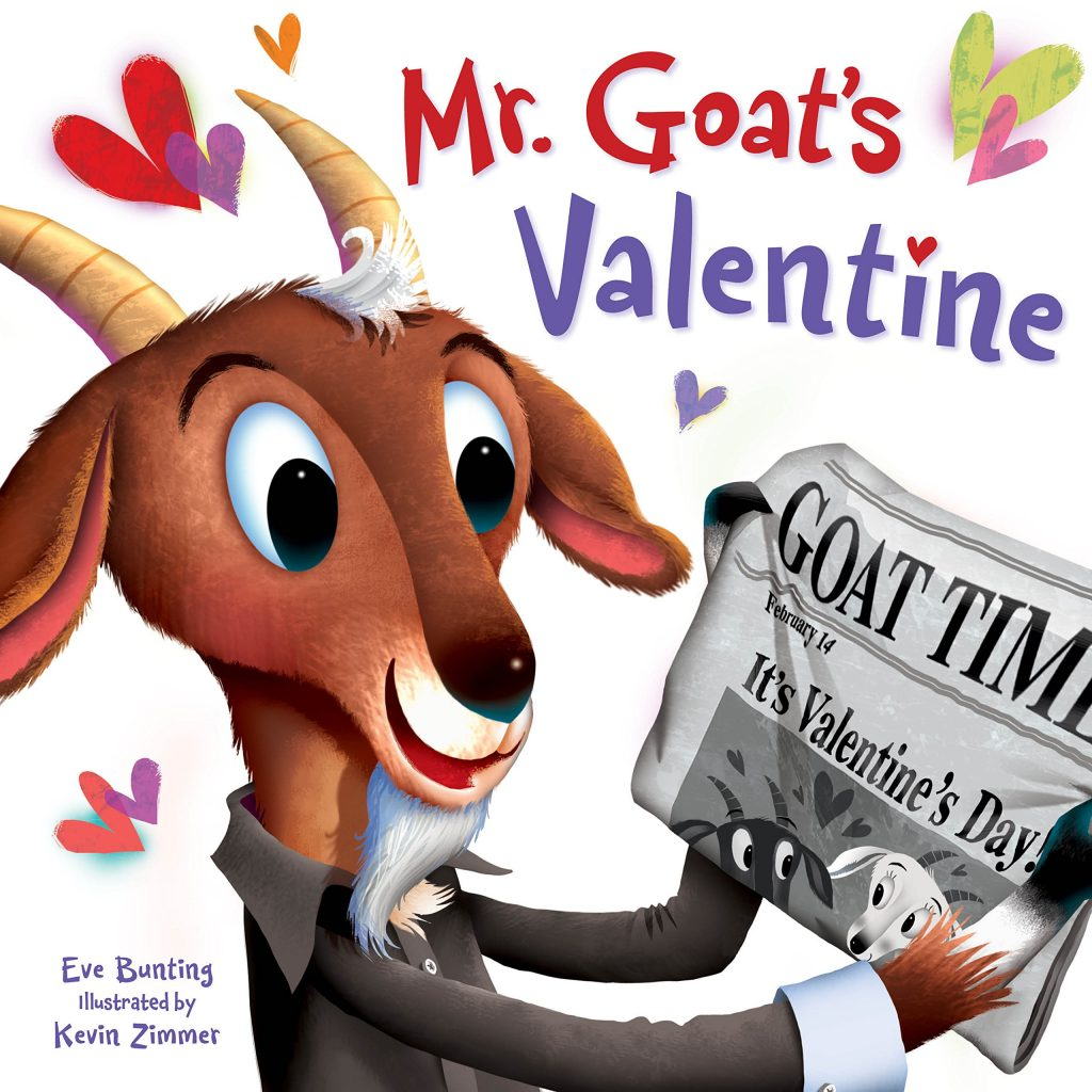 valentine day book Mr. Goat's Valentine