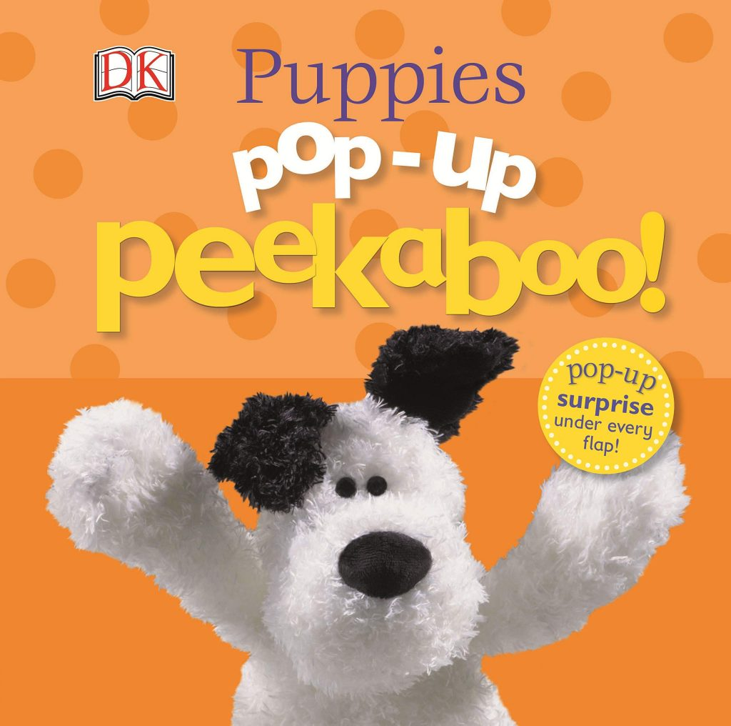 valentine day book Pop-Up Peekaboo Puppies Pop-Up Surprise Under Every Flap