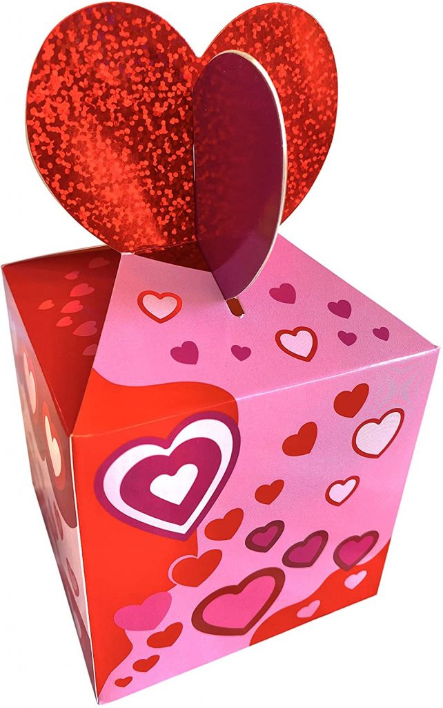 valentine day boxes Heart Gift Candy Treat Box
