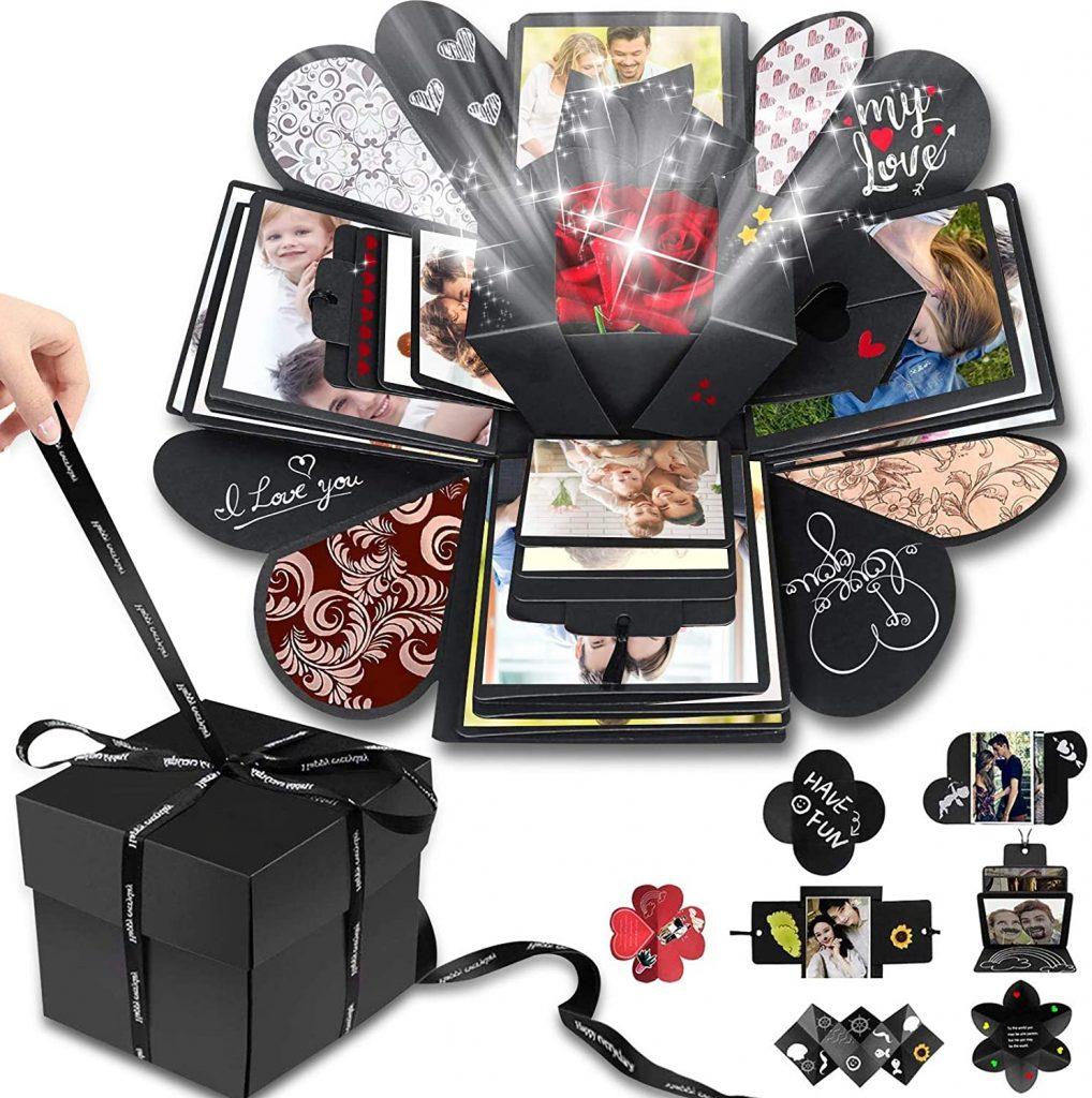 valentine day boxes Wanateber Creative Explosion Gift Box