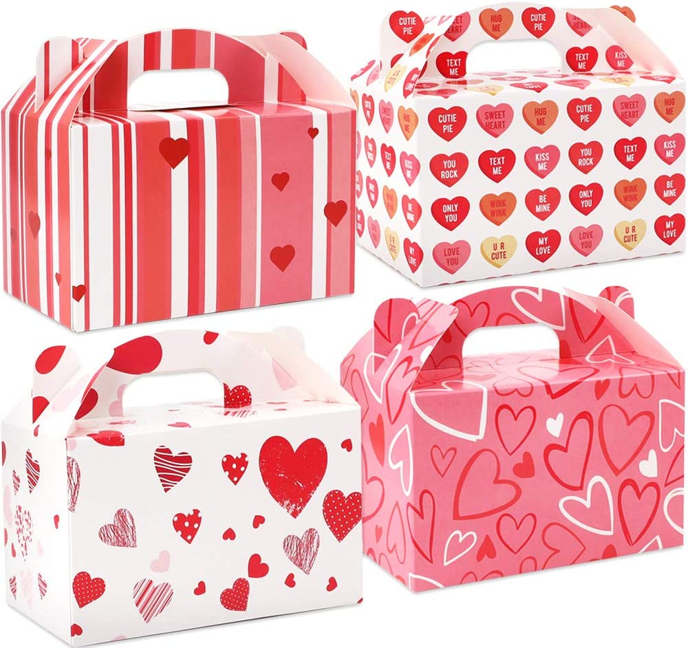 valentine day boxes moretoes pack valentine gable treat boxes