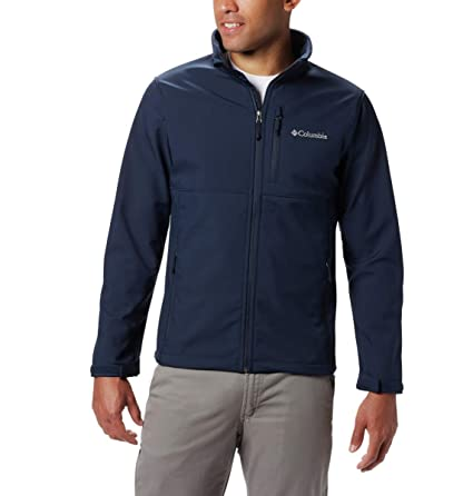 valentine day for guys Columbia mens Ascender Softshell Front-zip Jacket