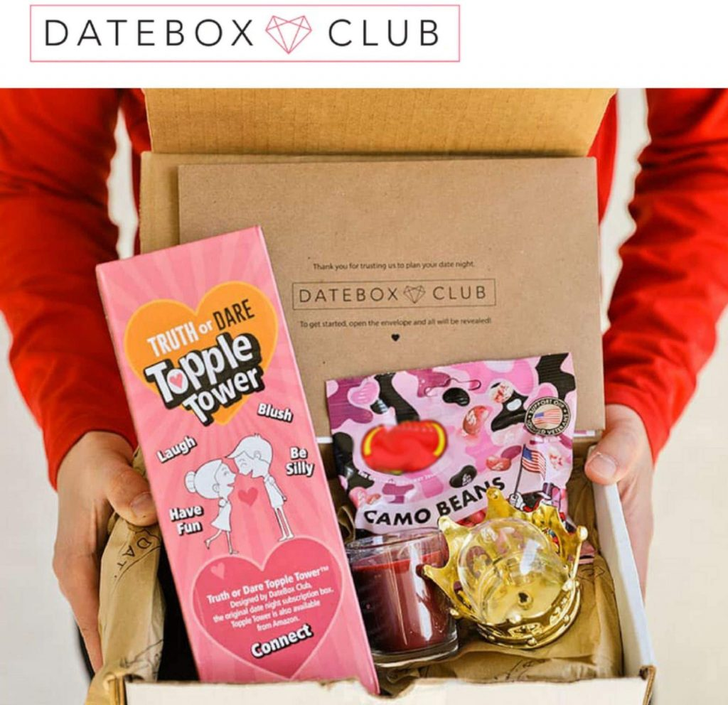 valentine day for guys DateBox Club - Monthly Subscription Box - The Best Date Night Kit - Fun and Romantic Activities For Couples