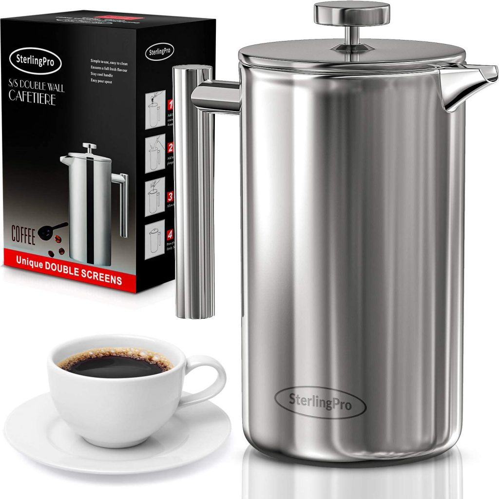 valentine day for guys SterlingPro French Press Coffee Maker