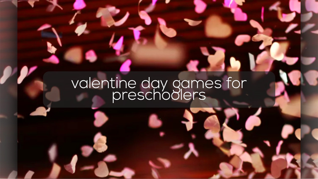 valentine day games for preschoolers feature image