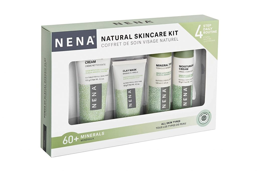 valentine day gifts for dad NENA Natural Skincare Kit