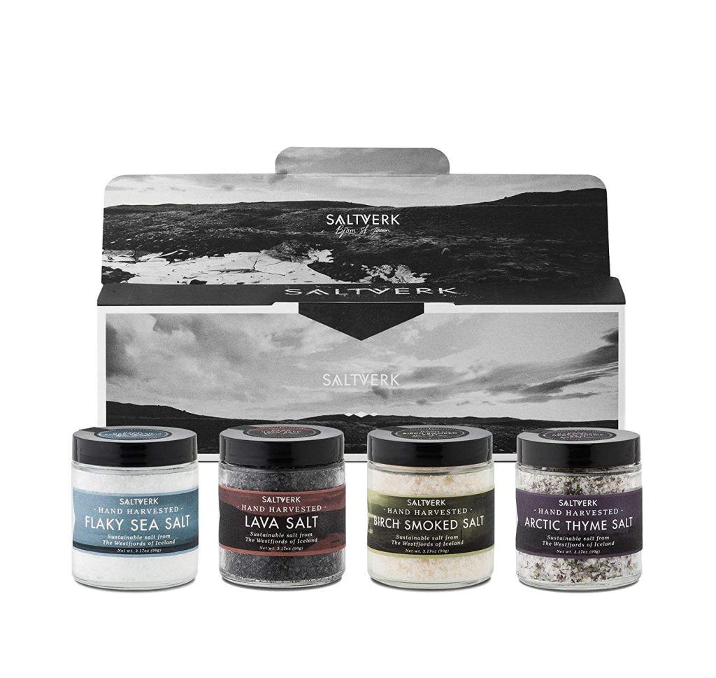 valentine day gifts for dad Saltverk Gift Box w Arctic Thyme salt