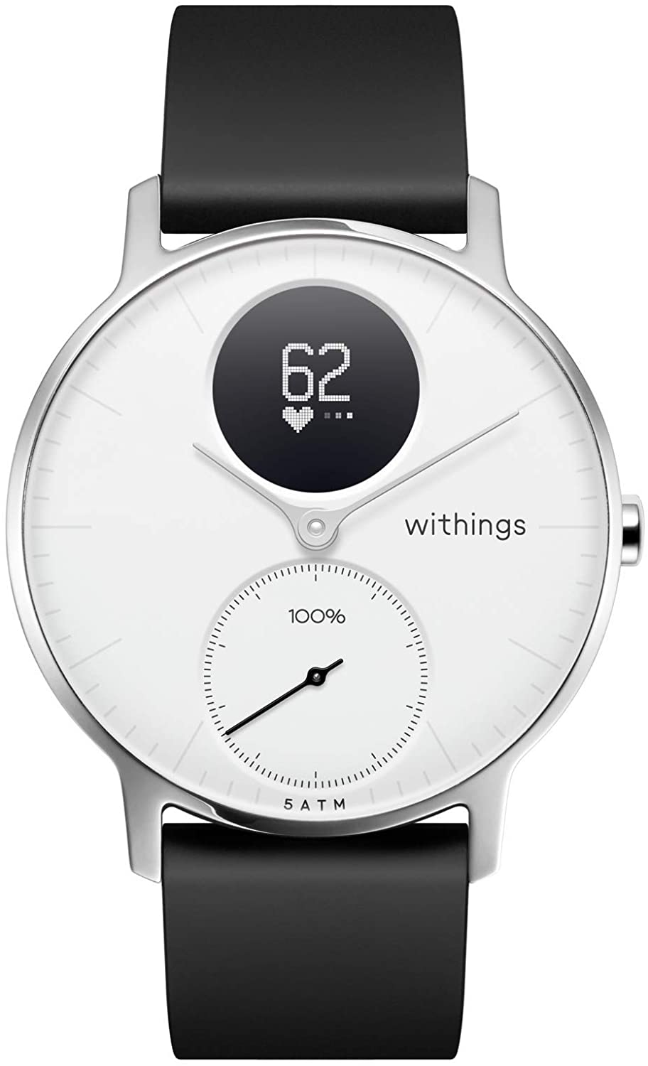 valentine day gifts for dad Withings Steel HR Hybrid Smartwatch - Activity Sleep Fitness and Heart Rate Tracker with Connected GPS