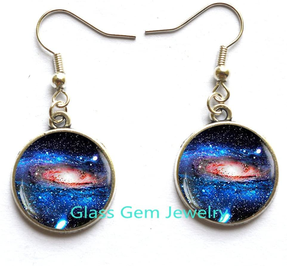 valentine day gifts for friends Galaxy Stud Earrings