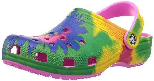 valentine day gifts for girlfriend Crocs Unisex-Adult Classic Tie Dye Clog