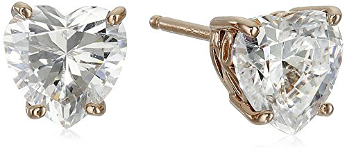 valentine day gifts for girlfriend Gold or platinum Plated Sterling Silver Fancy Twist Stud Earrings