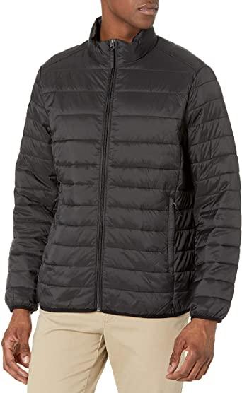valentine day gifts for him Amazon Essentials Men's Lightweight Water-Resistant Jacket