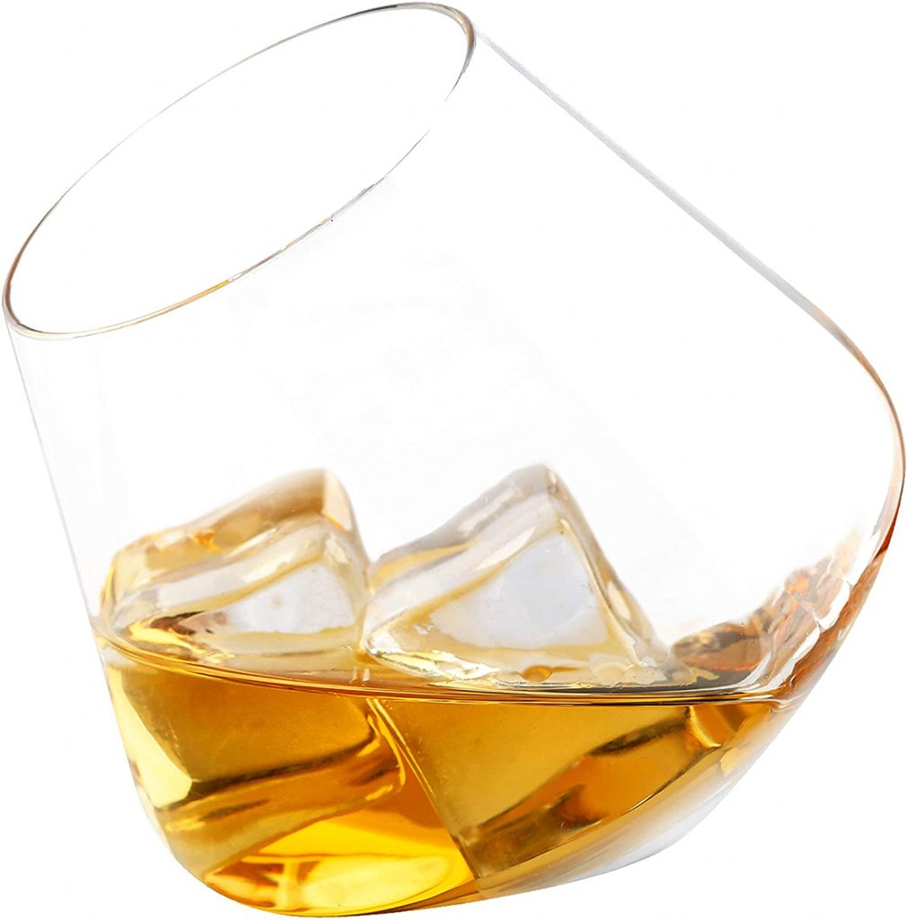 valentine day gifts for him Crystal Whiskey Tumblers 4 sets